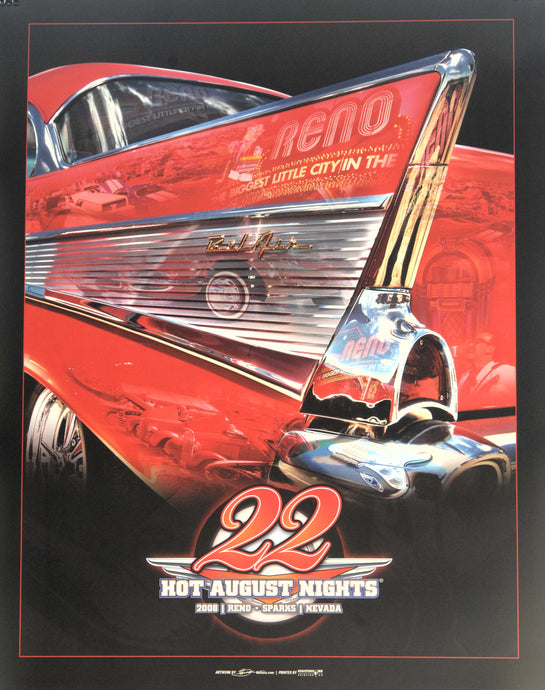 2008 Hot August Nights Event Poster