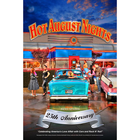 2011 Hot August Nights Event Poster