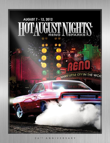 2012 Hot August Nights Event Poster
