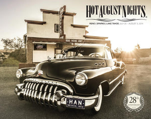 2014 Hot August Nights Event Poster
