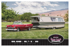 2018 Hot August Nights- Vintage Trailer Event Poster