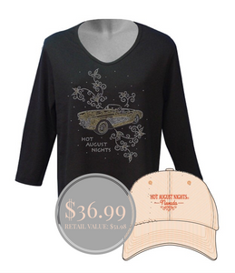 Bundle 2: Ladies 3/4 Sleeve + Hat
