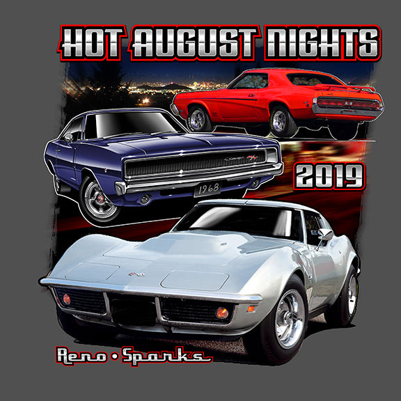 Men's 3 Car Night T-Shirt (2 Colors)