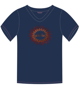 Ladies 2018 Foiled Sun T-Shirt (3 Colors)