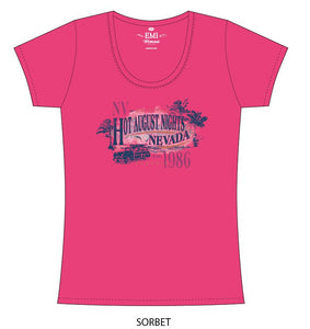 Ladies Woodie T-Shirt (3 Colors)