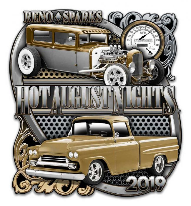 2019 Tin Sign- Chrome Truck