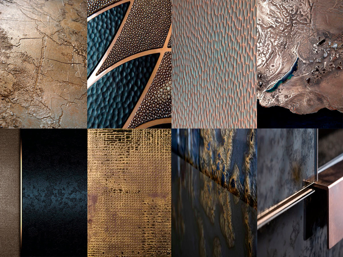 TEXTURES AND SPECIAL FINISHES