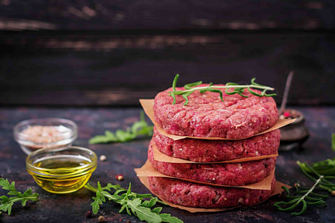 Bison Steak Patties, 4:1, Ind. wrapped (Buy 3, Get 1 Free)