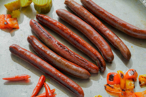 Rocky Mountain Elk Hot Dogs