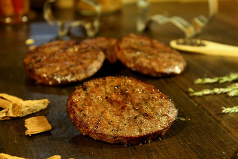 Bison Bratwurst Patties