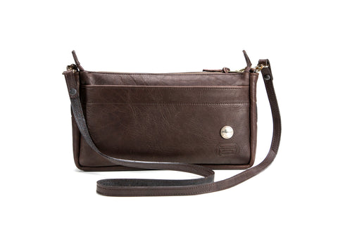 KW Bison Leather Purse - Cross Body
