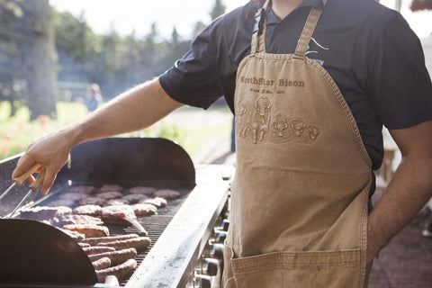 Northstar Bison Duck Cloth Grilling Apron
