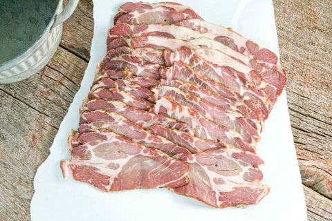 Smoked Pork Shoulder Bacon