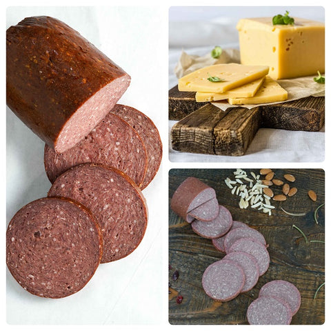 Sausage & Raw Cheese Sampler Pack