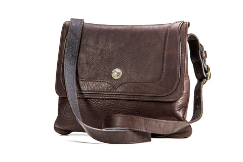 Trim Style Bison Leather Purse