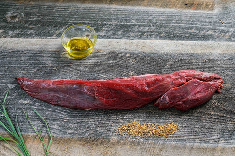 Bison Tenderloin, Whole, 3-3.5 lb