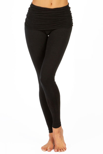 The Ruched Skirt Yoga Pant