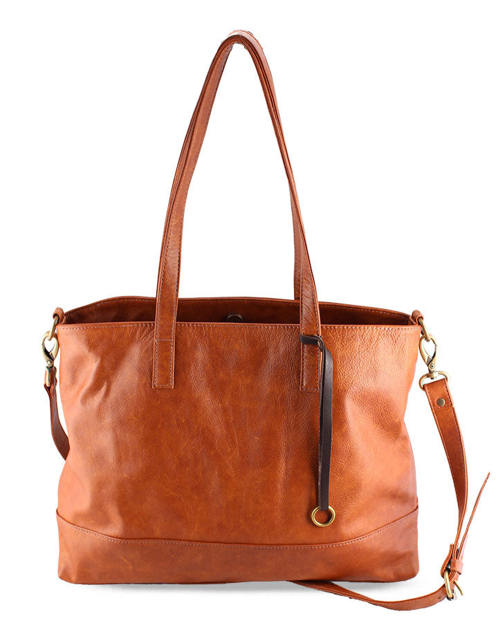 LILY LEATHER HANDBAG