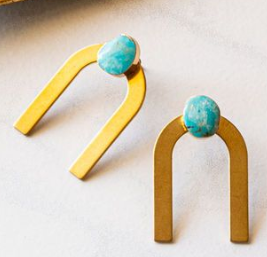 3-N-1 TURQUOISE EARRINGS