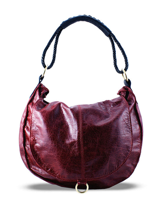 ALLIE LEATHER HANDBAG - HENRI LOU DESIGNS