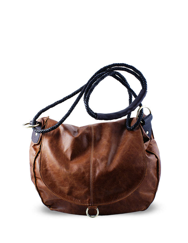 ALLIE CROSSBODY LEATHER HANDBAG - HENRI LOU DESIGNS