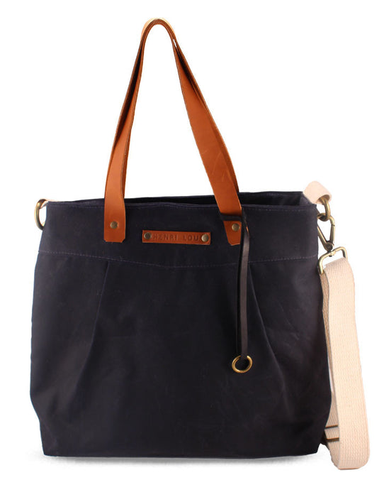 HL CANVAS CARRYALL - HENRI LOU DESIGNS