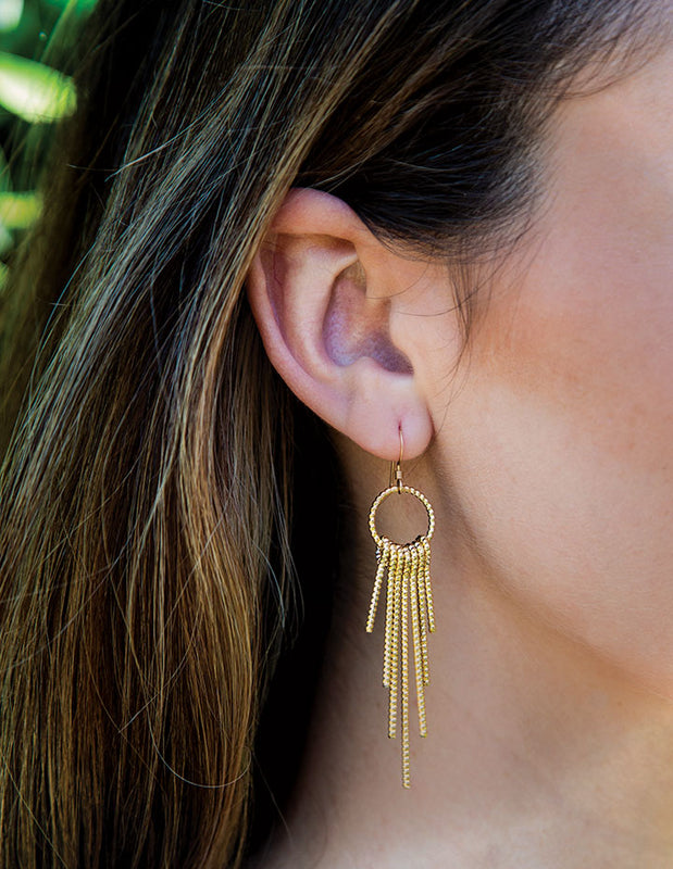 HL DREAMCATCHER EARRINGS - HENRI LOU DESIGNS