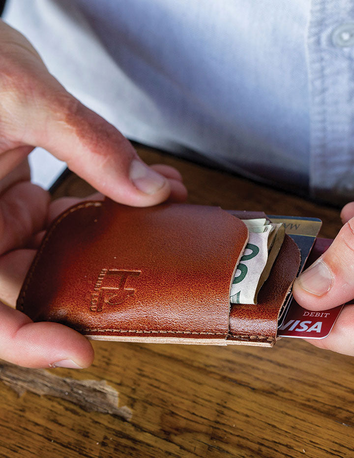 HL FRONT POCKET CASH AND CARD CASE