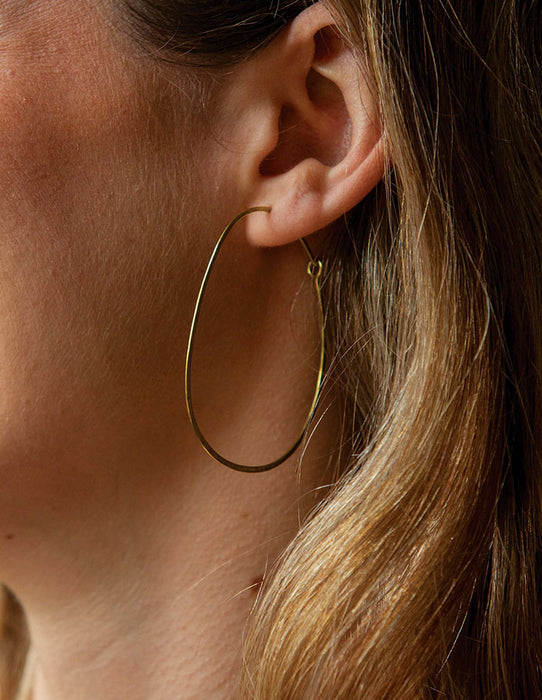 HL HOOP EARRINGS - HENRI LOU DESIGNS