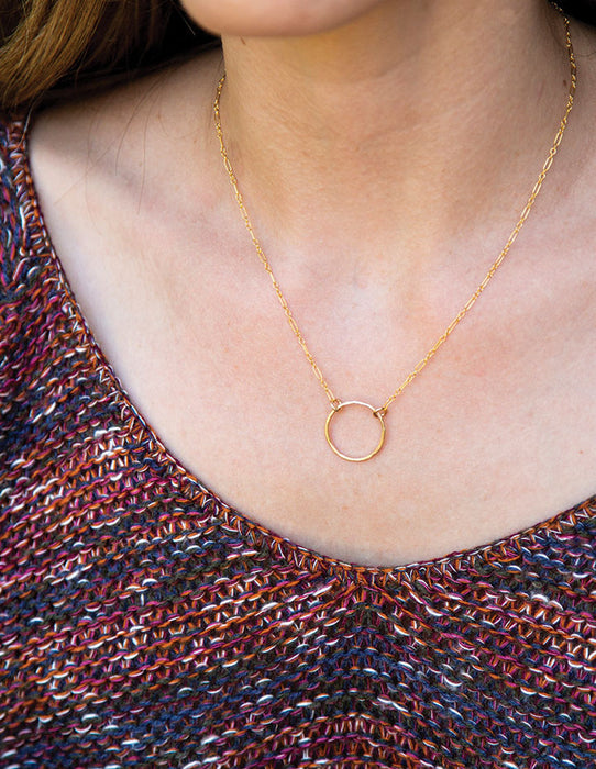 HL SIMPLE CIRCLE NECKLACE