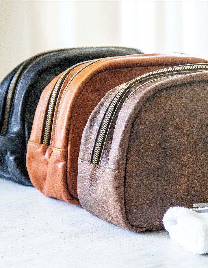 HL TOILETRY BAG - HENRI LOU DESIGNS