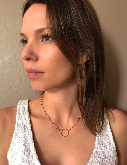 HL DAINTY NECKLACE - HENRI LOU DESIGNS