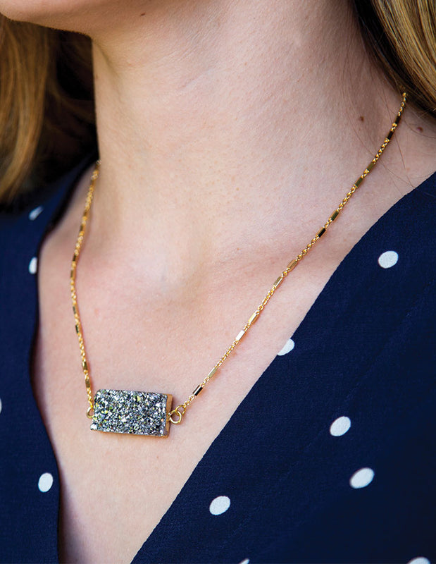 HL DRUZY NECKLACE - HENRI LOU DESIGNS