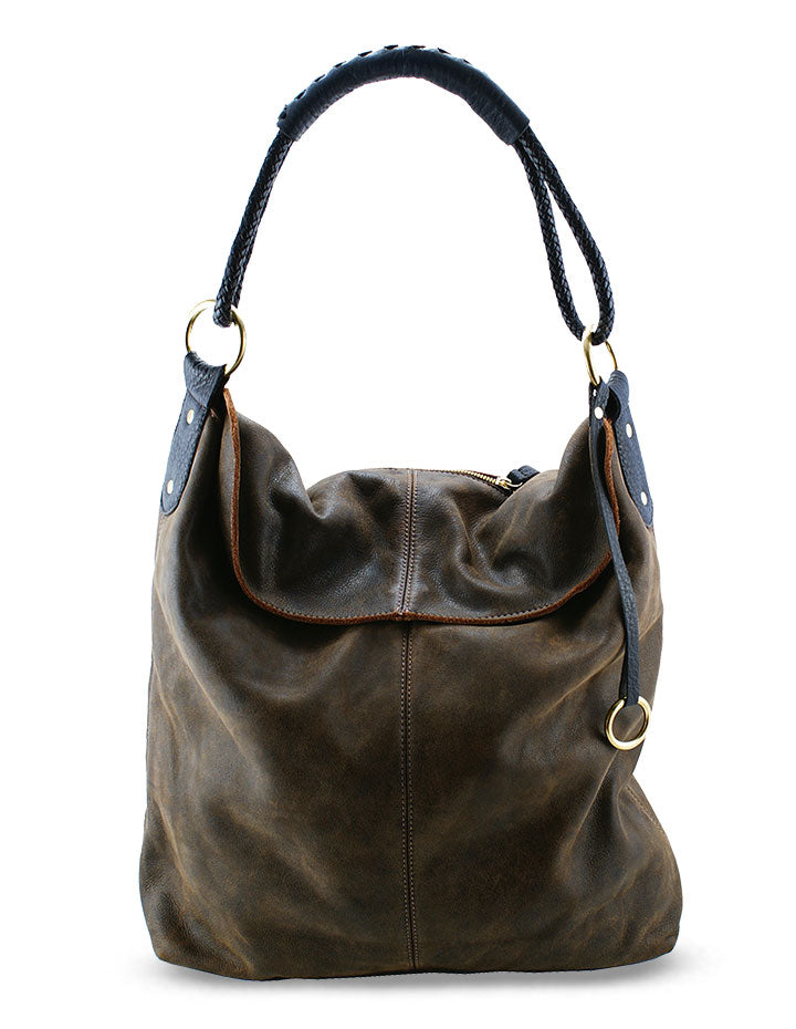HL LEATHER HANDBAG