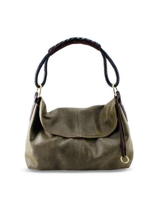 HL MINI LEATHER HANDBAG - HENRI LOU DESIGNS