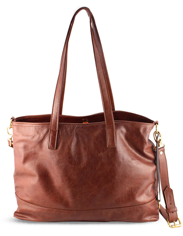 LILY LEATHER HANDBAG - HENRI LOU DESIGNS