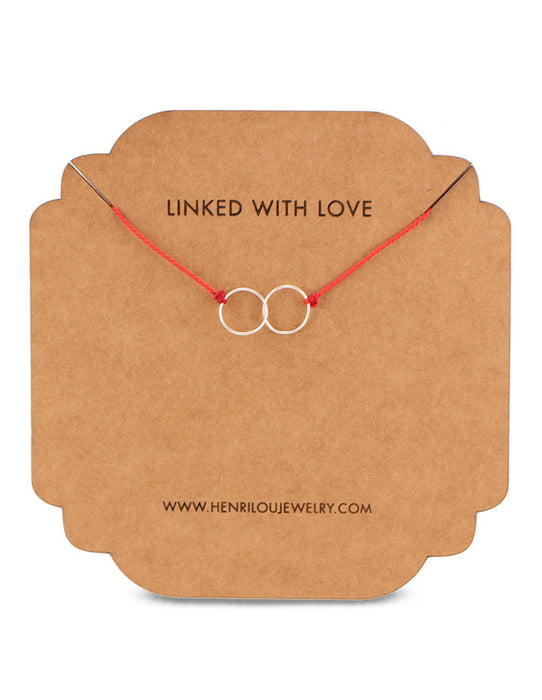 LINKED WITH LOVE NECKLACE