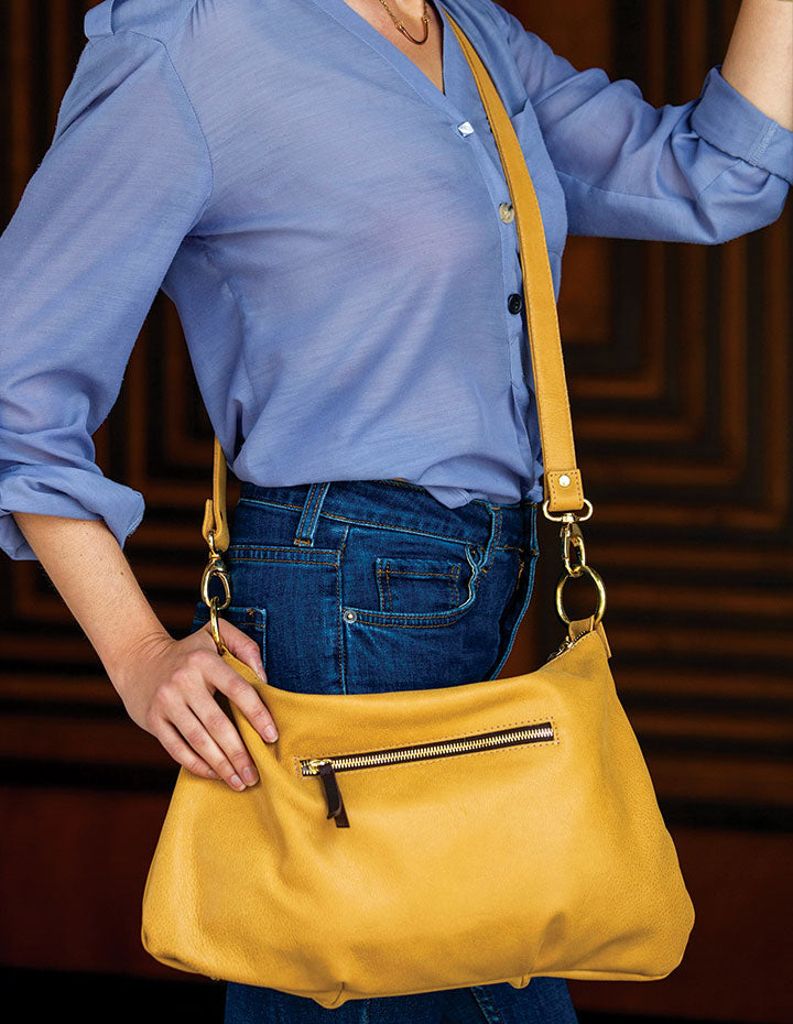 MARLEY LEATHER HANDBAG