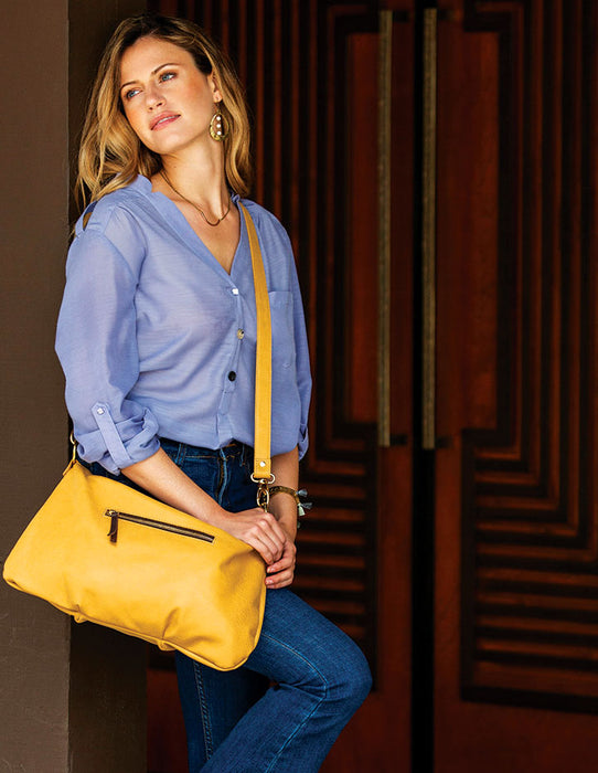 MARLEY LEATHER HANDBAG - HENRI LOU DESIGNS