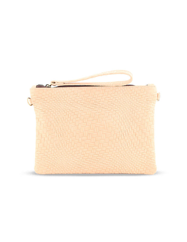 MEGHAN LEATHER CLUTCH - HENRI LOU DESIGNS