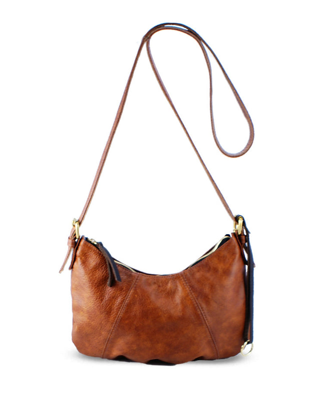 TATE LEATHER HANDBAG - HENRI LOU DESIGNS