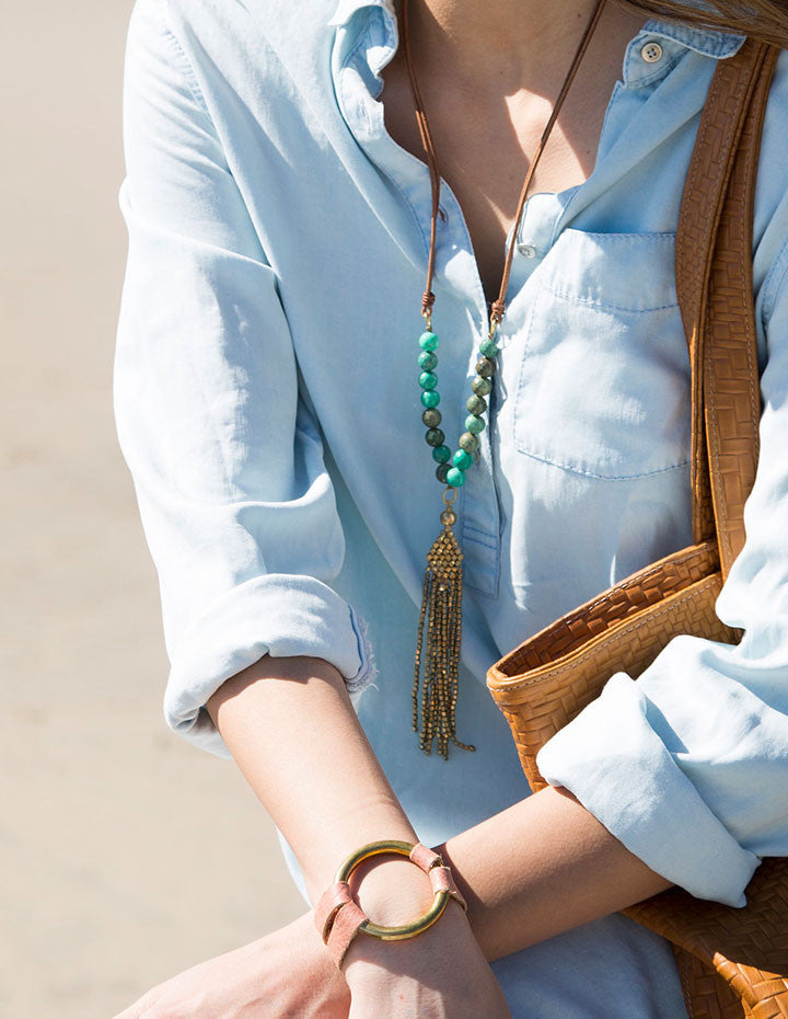 THE TASSEL NECKLACE