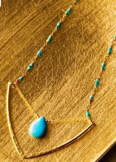 Turquoise Luv Necklace