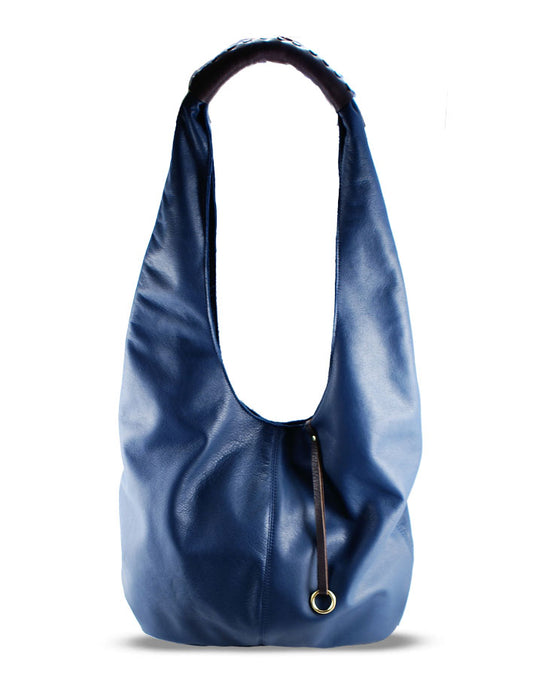 WESTON LEATHER HANDBAG - HENRI LOU DESIGNS