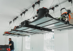Using Smart Track to Transform Your Garage Into the Perfect Man Cave