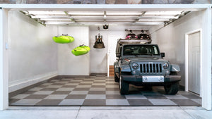 Easy Kayak Storage With a Kayak Garage Hoist