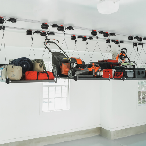 Garage Smart Platform Lifters – smart overhead storage