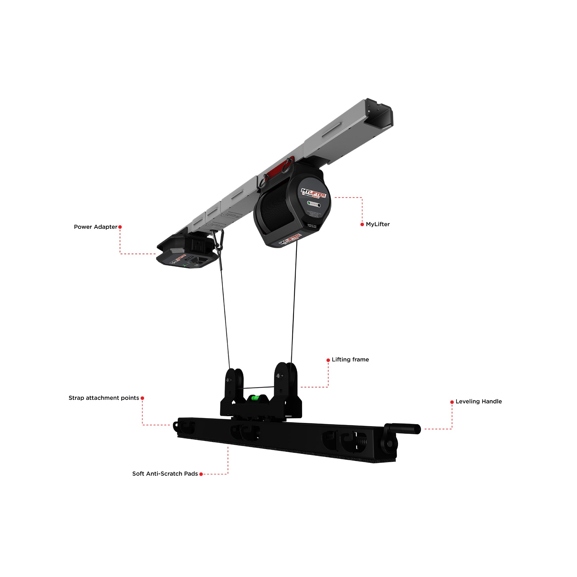 Multi Bike Lifter Features