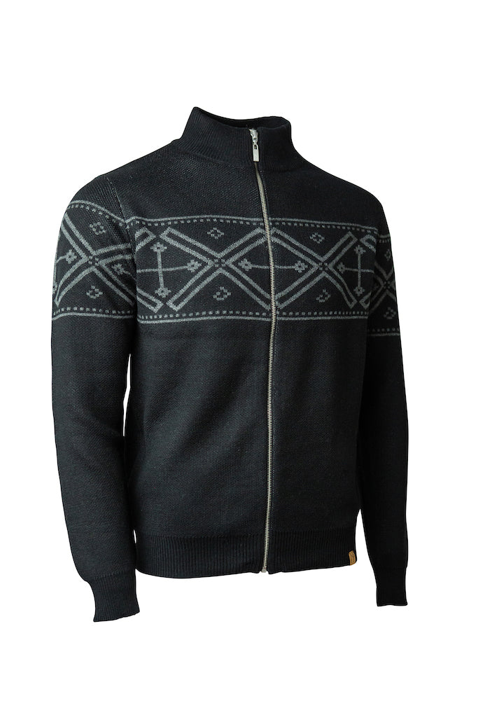 Nolan Full-Zip Sweater