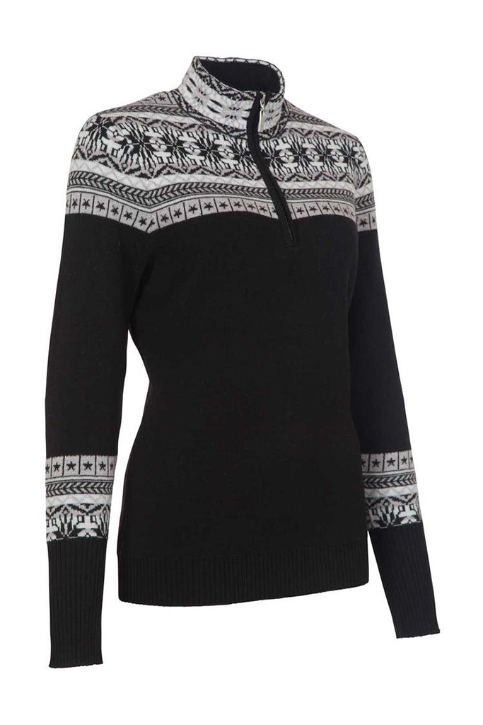 Caroline 1/4 Zip Sweater